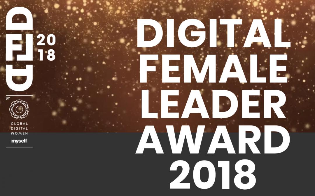 Digital Female Leader Award für Heike Hölzner